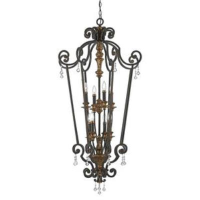 Quoizel Lighting MQ5208HL Marquette - Eight Light Cage Chandelier