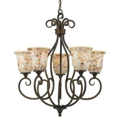 Quoizel Lighting MY5005ML Monterey Mosaic - Five Light Chandelier