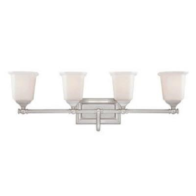 Quoizel Lighting NL8604BN Nicholas - Four Light Bath Vanity