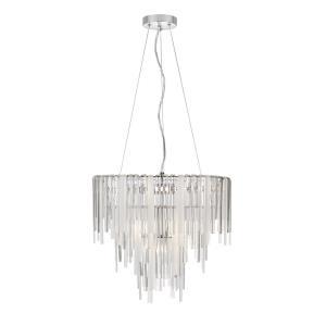 Platinum Collection Athena - Seven Light Pendant