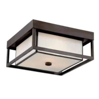 Quoizel Lighting PWL1613WT Powell - Three Light Flush Mount