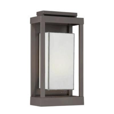Quoizel Lighting PWL8309WT Powell - One Light Outdoor Wall Sconce