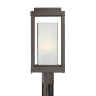 Quoizel Lighting PWL9009WT Powell - One Light Outdoor Post Mount