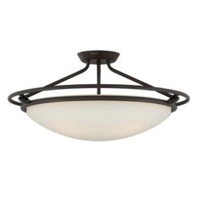 Quoizel Lighting QF1201SWT Ashland - Four Light Semi-Flush Mount
