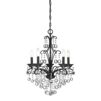 Quoizel Lighting QMC1199FR Five Light Chandelier