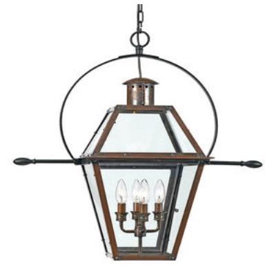 Quoizel Lighting RO1914AC Rue De Royal - Four Light Hanging Lantern