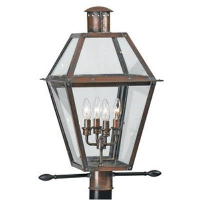 Quoizel Lighting RO9014AC Rue De Royal - Four Light Post Lantern