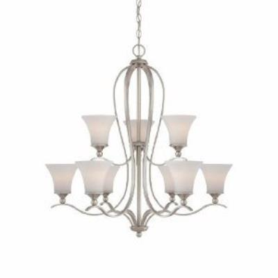 Quoizel Lighting SPH5009BN Sophia - Nine Light 2-Tier Chandelier