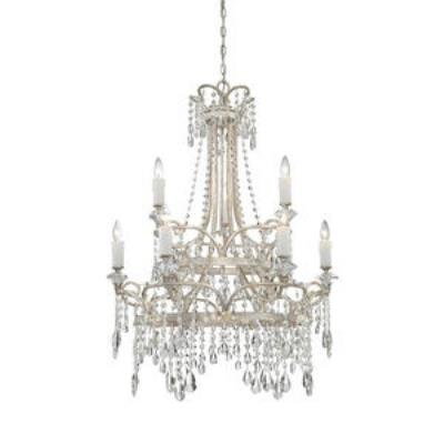 Quoizel Lighting TCA5009VP Tricia - Nine Light Chandelier