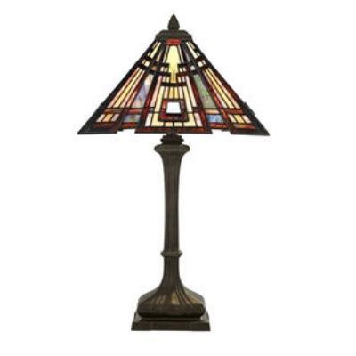 Quoizel Lighting TF124TVA Classic Craftsman - Two Light Table Lamp