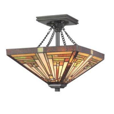 Quoizel Lighting TF885SVB Stephen - Two Light Semi-Flush Mount