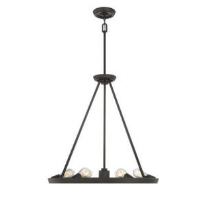 Quoizel Lighting UPTR5007WT Uptown Theater Row - Seven Light Chandelier