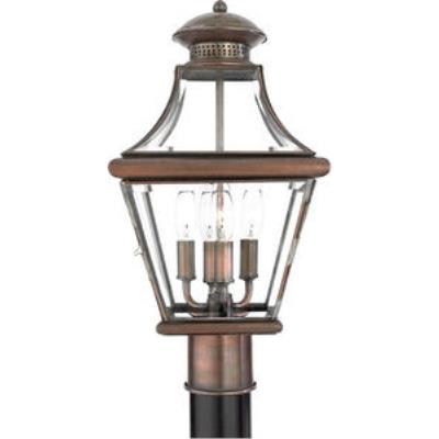 Quoizel Lighting CAR9011AC Carleton - Four Light Large Post Lantern