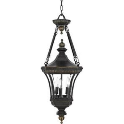 Quoizel Lighting DE1490IB Devon - Three Light Large Hanging Lantern