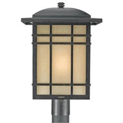 Quoizel Lighting HC9013IB Hillcrest - One Light Outdoor Large Post Lantern