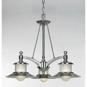 New England - Three Light Dinette Chandelier