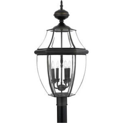 Quoizel Lighting NY9045Z Newbury - Four Light Extra Large Post Lantern