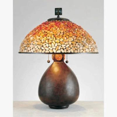 Quoizel Lighting TF6825CN Pomez - Two Light Table Lamp