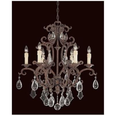 Savoy House 1-1402-6-56 Six Light Chandelier