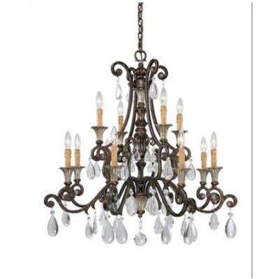 Savoy House 1-3003-12-8 St. Laurence - Twelve Light Chandelier