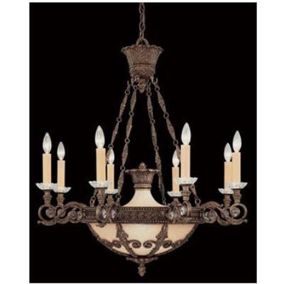 Savoy House 1-3411-8-56 Empire - Twelve Light Chandelier