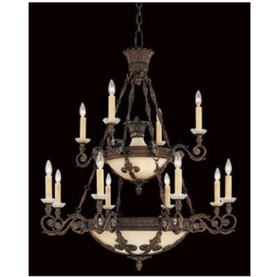 Savoy House 1-3412-12-56 Empire - Eighteen Light Chandelier