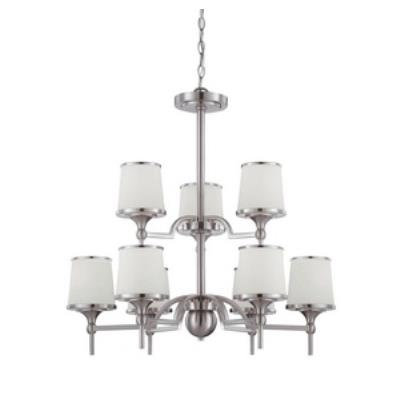 Savoy House 1-4380-9-SN Hagen - Nine Light Chandelier
