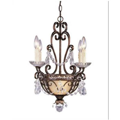 Savoy House 1-4505-4-8 Six Light Mini Chandelier