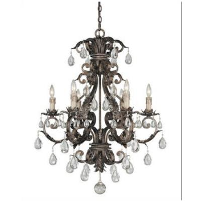 Savoy House 1-5306-6-8 Chastain - Six Light Chandelier