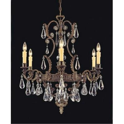 Savoy House 1-6202-6-241 L'Art du Luminaire - Six Light Chandelier