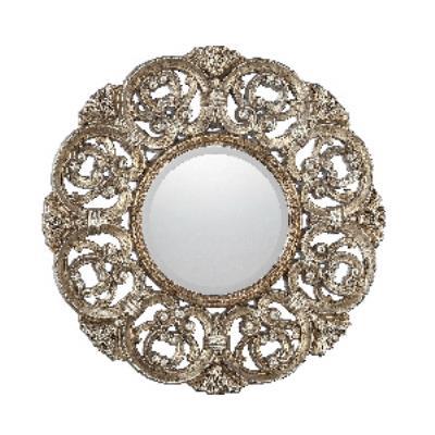 """Savoy House 4-BLGF409ET-228 Traci - 45.5"""" Round Mirror"""