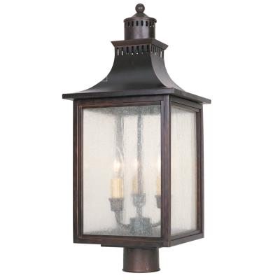 Savoy House 5-255-13 Monte Grande - Three Light Outdoor Post Lantern
