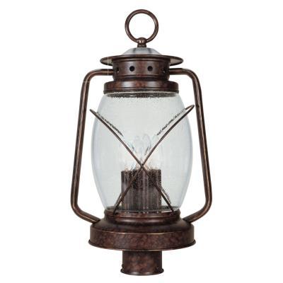 Savoy House 5-3413-56 Smith Mountain - Three Light Outdoor Post Lantern