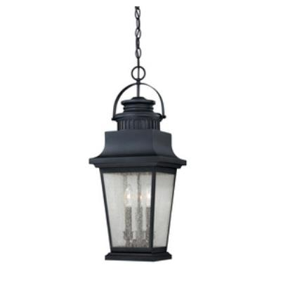 Savoy House 5-3551-25 Barrister - Three Light Outdoor Hanging Lantern