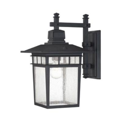 Savoy House 5-9591-BK Linden - One Light Outdoor Wall Lantern