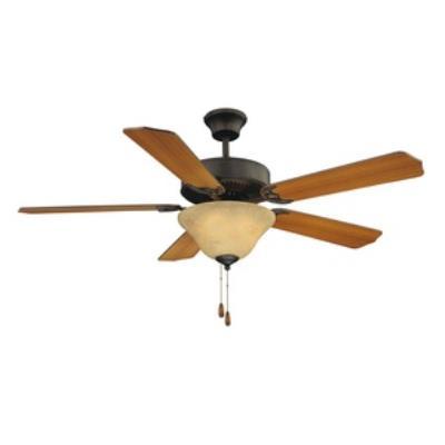 "Savoy House 52-ECM-5RV-13WG First Value - 52"" Ceiling Fan"
