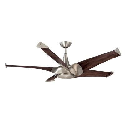 "Savoy House 58-818-5CN-SN Ariel - 58"" Ceiling Fan"