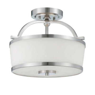 Savoy House 6-4382-2-SN Hagen - Two Light Semi-Flush Mount