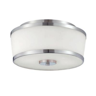 Savoy House 6-4384-13-SN Hagen - Two Light Flush Mount