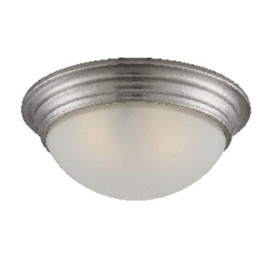 "Savoy House 6-782-11-SN Two Light 11"" Flush Mount"