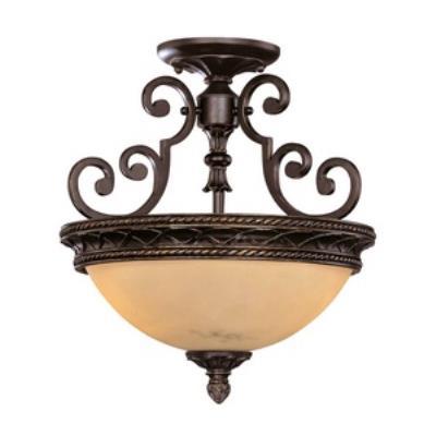 Savoy House 6P-50212-2-16 Knight - Two Light Semi-Flush Mount