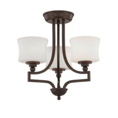 Savoy House 6P-7213-3-13 Terrell - Three Light Semi-Flush Mount