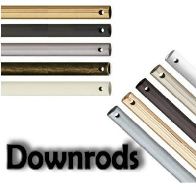 Savoy House WH-Downrod White Finish Down Rod