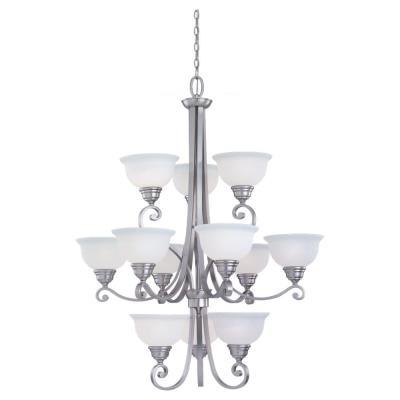 Sea Gull Lighting 31193-962 Twelve-Light Serenity Chandelier