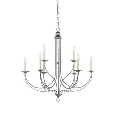 Sea Gull Lighting 31295-57 Plymouth - Nine Light 2-Tier Chandelier