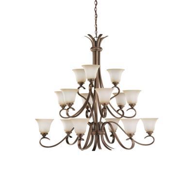 Sea Gull Lighting 31363-829 Fifteen-Light Rialto Chandelier