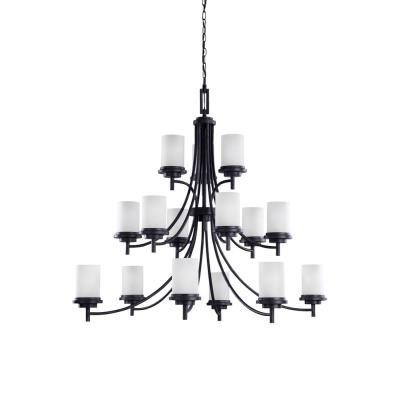 Sea Gull Lighting 31663 Winnetka - Fifteen Light Three Tier Chandelier