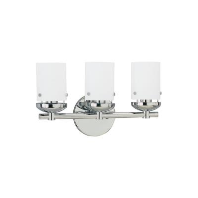 Sea Gull Lighting 40045-05 Three-light Chrome Wall/bath