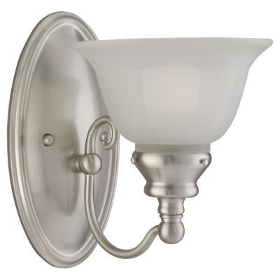 Sea Gull Lighting 44650-962 One Light Brushed Nickel Wall Sco