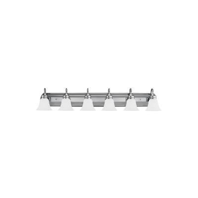 Sea Gull Lighting 44855-05 Gladstone - Six Light Bath Bar